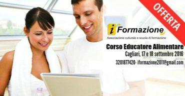 Corso di Educatore Alimentare per il Fitness Cagliari
