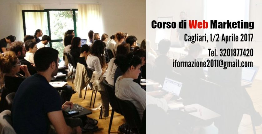 Corso di web marketing cagliari