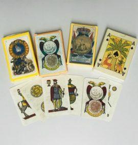Carte da gioco, riproduzioni storiche
