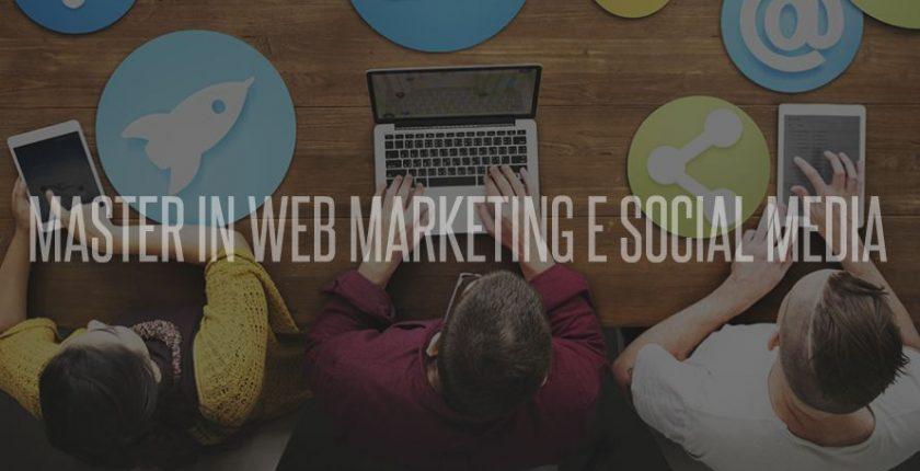 MASTER WEB MARKETING SOCIAL MEDIA