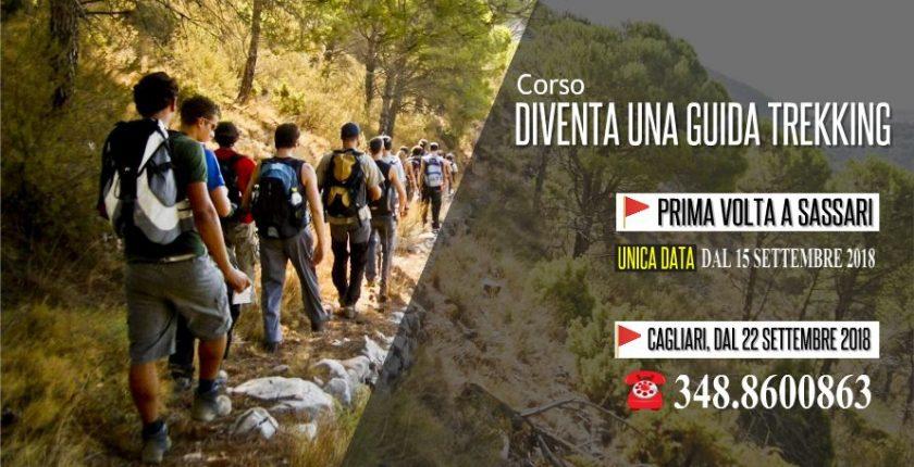 Corso Guida Trekking Sassari e Cagliari